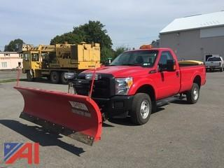 **4% BP** 2015 Ford F250 XL Super Duty Pickup with Plow and Salter