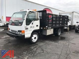 2001 GMC Stake Bed Truck