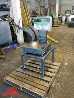 Toledo Shipping Scale 100lb Capacity
