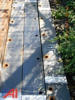 (15) 9' Fischer Plow Blades (Never Used) (#1416)