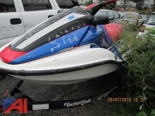 2002 Honda Aqua Trax F12X Jet Ski w/ Trailer