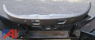 (4) Front Bumpers From Large Trucks - Never Used