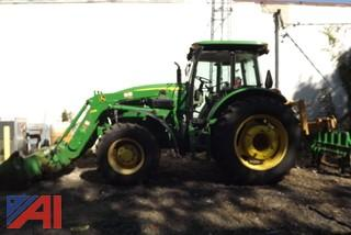2013 John Deere 6130 Front end loader