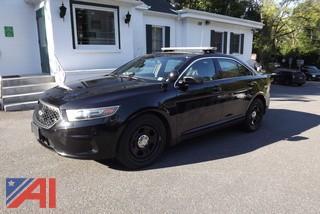 **4% BP** 2015 Ford Taurus 4 Door/Police Car