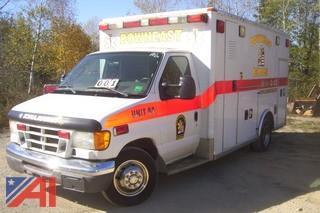 2006 Ford E450 Ambulance
