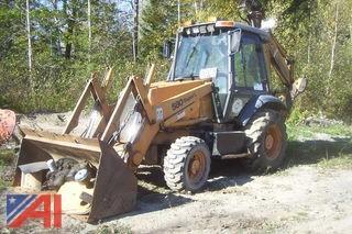 1996 Case 580 Super L 4x4 Backhoe