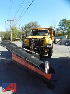 2004 GMC C8500 Dump Truck with Plow & Wing