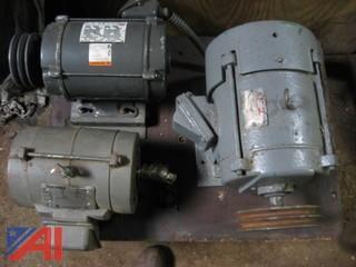 (3) Industrial Motors