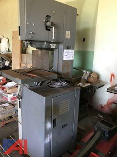 Band Saw and Table Saw