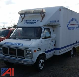 1989 GMC Vandura 3500 Box Truck