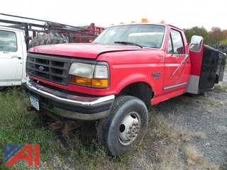 1997 Ford F350 Pickup with Utility Box