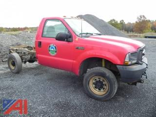 2003 Ford F350 SD Cab and Chassis
