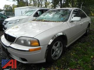 2000 Lincoln LS 4 Door Sedan
