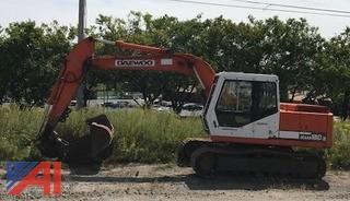 1999 Daewoo Solar 130-III Tracked Excavator