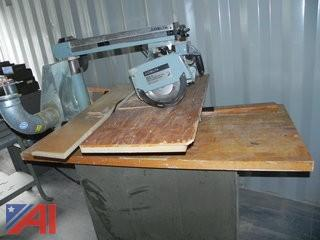Delta Deluxe Radial Arm Saw