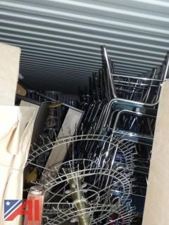 Contents of Container With Chairs, Stools, Tables and More