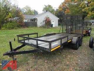 1989 Starl Trailer with Ramps