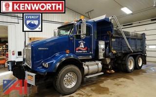 2010 Kenworth T800 Dump Truck Plow & Spreader