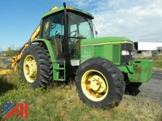 1995 John Deere 6400 Tractor w/ Mower