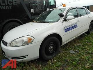 2006 Chevy Impala 4DSD/Police Vehicle