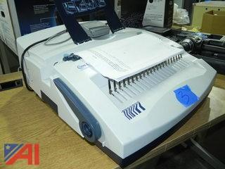 SircleBind CB-3000 Electric 3 Hole Punch & Plastic Comb Binding Machine