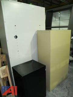 (10) Metal Cabinets