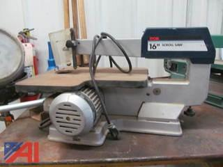 "1993 Ryobi 16"" Scroll Saw and 2000 Grizzly 16"" Scroll Saw"