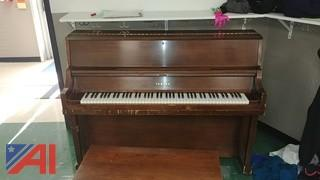 Yamaha Upright Piano w/Bench