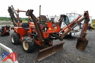 Ditch Witch R65-2 4WD Trencher Backhoe Dozer