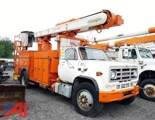 1988 GMC 4000 Asplundh Bucket Truck