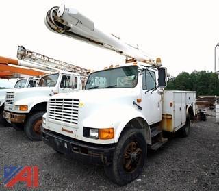 1996 International 4900 4x2 Altec L38 Bucket Truck
