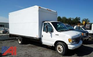 1992 Ford E350 15' Box Truck