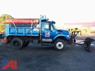 2011 International 7400 Dump Truck with Plow and Sander
