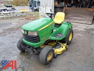 John Deere X700 Riding Mower