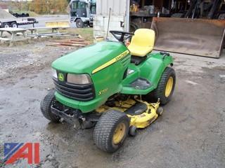 John Deere X700 Riding Mower