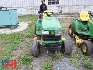 John Deere X700 Ultimate Riding Mower