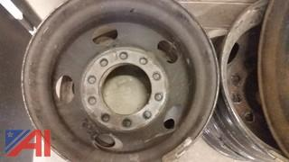 Lot of Rims 22.5 10 Bolt