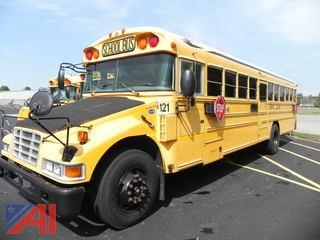 2007 Blue Bird Vision School Bus with Wheelchair Lift