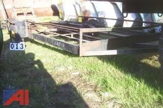 12' Flat Bed trailer