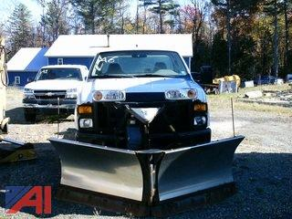 2008 Ford F350 Cab and Chassis with V Plow