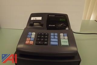 Sharp Cash Register and Panini Credit Card Reader