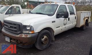 2002 Ford F350 XL Super Duty Pickup/Utility Truck