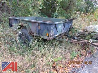 Army Type Utility Trailer