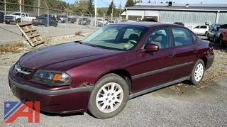 2003 Chevy Impala 4 Door Sedan