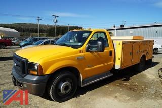 2006 Ford F350 XL SD Utility Truck