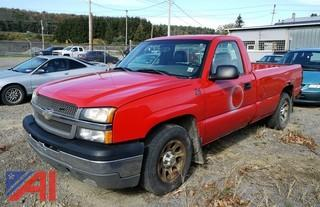 2005 Chevrolet Silverado Pickup Truck