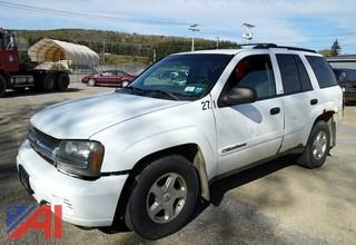 2002 Chevy Trailblazer 4WD SUV