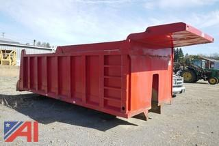 Ox Bodies 18' Heavy Steel Dump Body