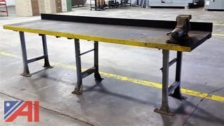 Work Bench & Vise