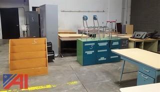 Storage Cabinets, Desks & More